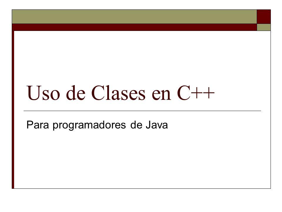 Para programadores de Java