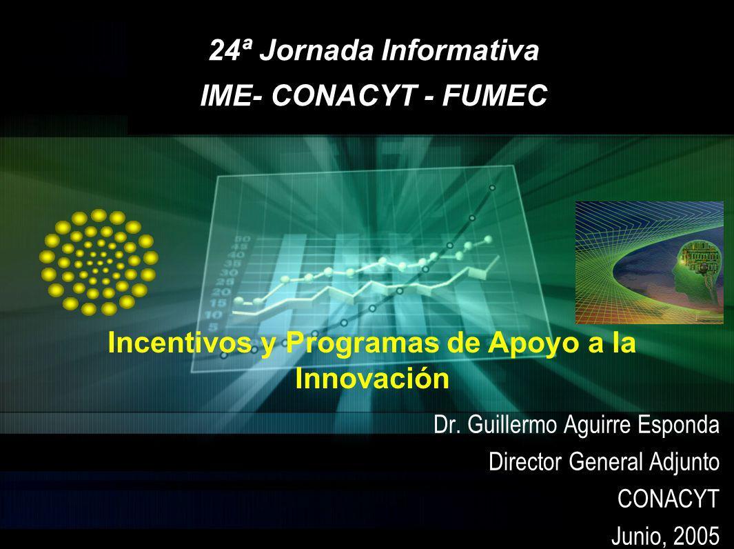 24ª Jornada Informativa IME- CONACYT - FUMEC