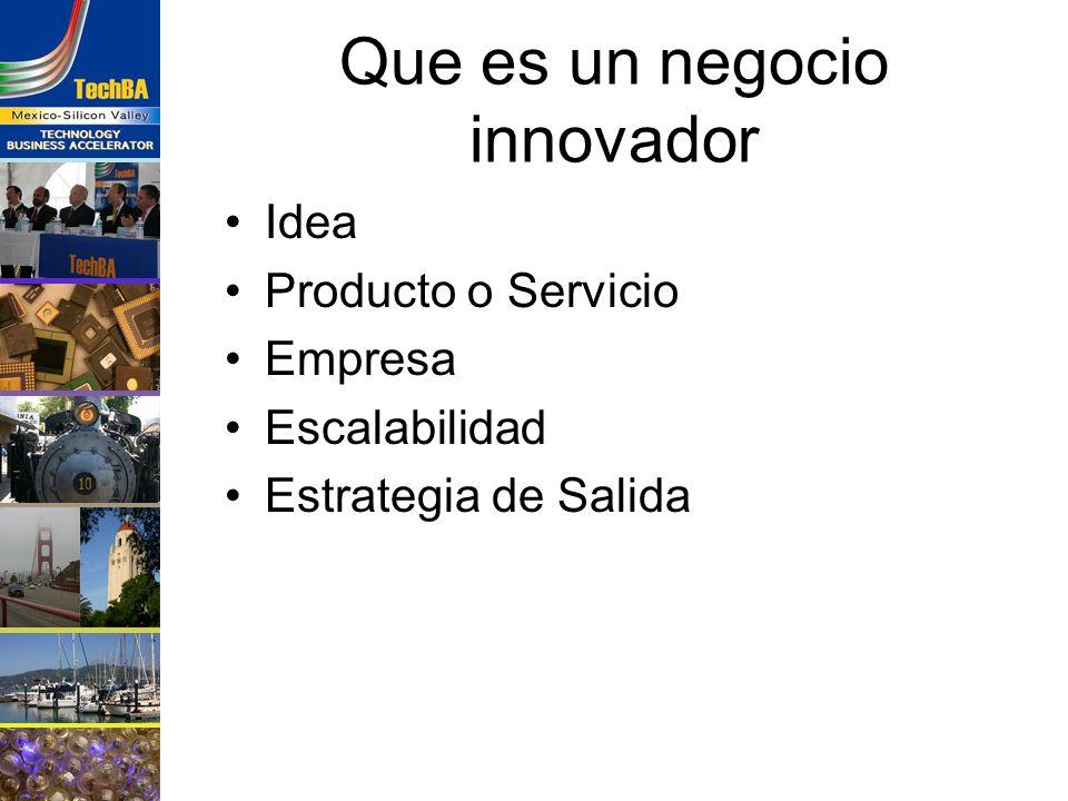 Que es un negocio innovador