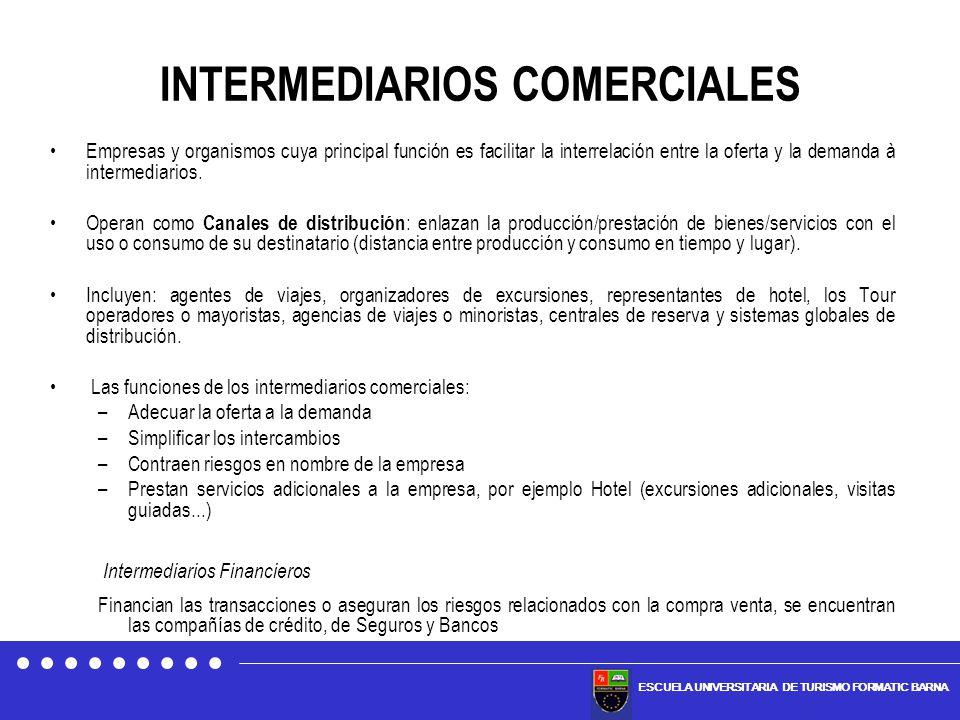 INTERMEDIARIOS COMERCIALES