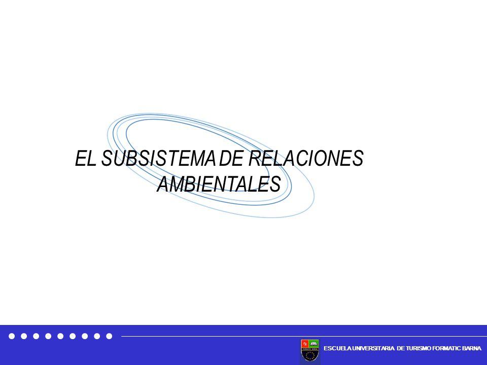 EL SUBSISTEMA DE RELACIONES