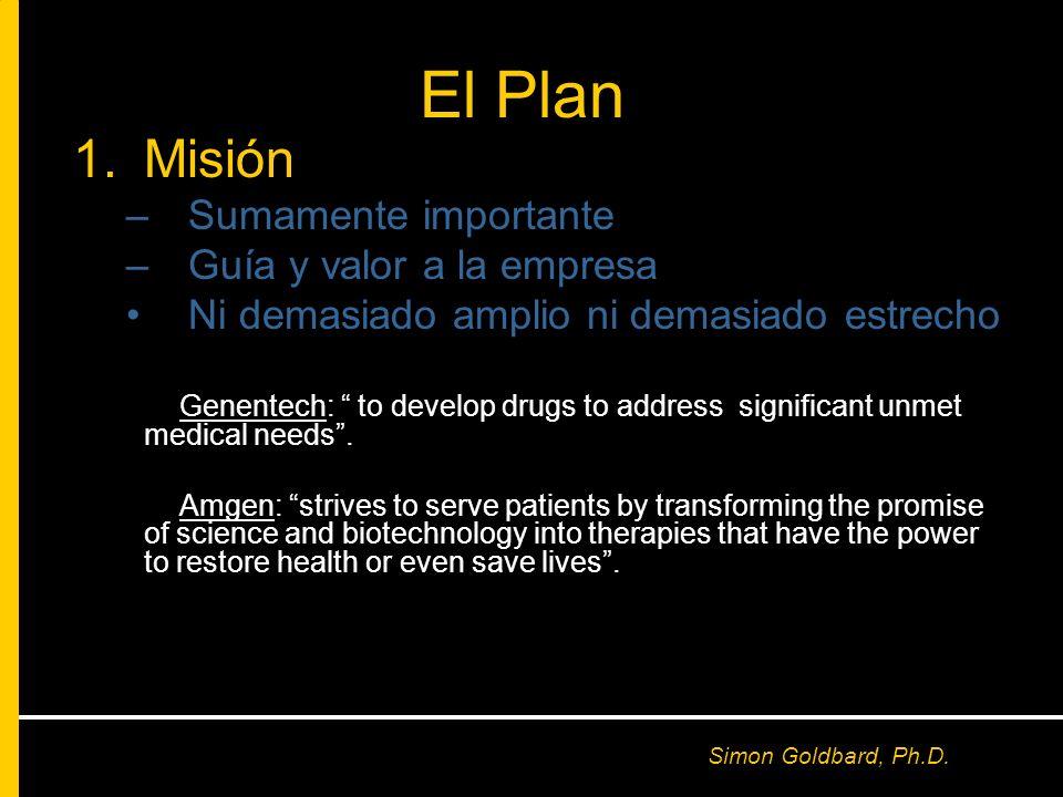 El Plan Misión Sumamente importante Guía y valor a la empresa