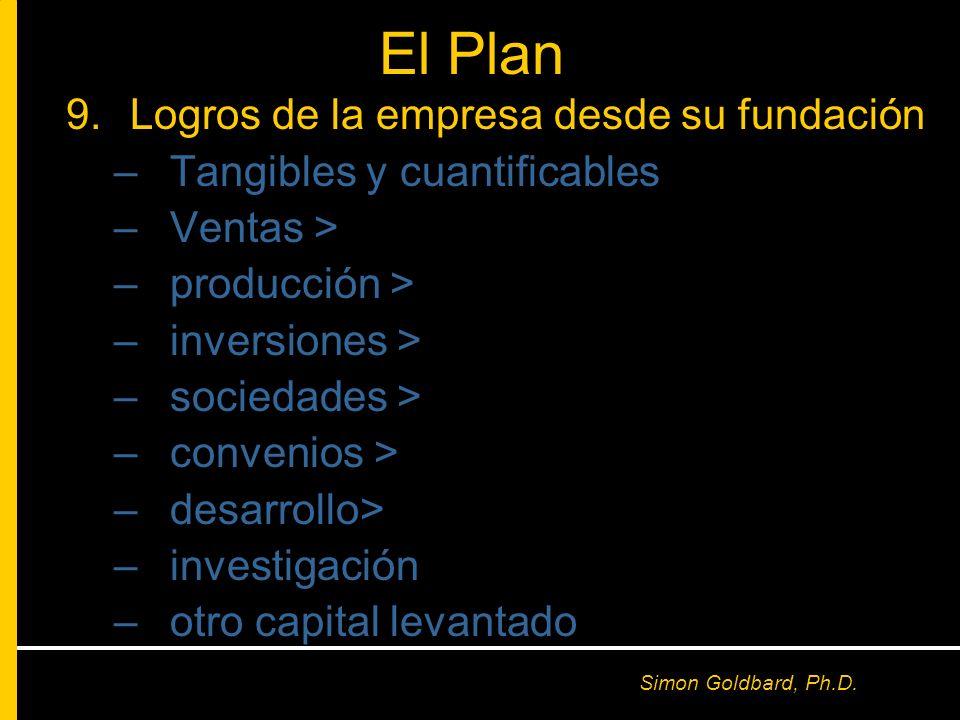 El Plan Logros de la empresa desde su fundación