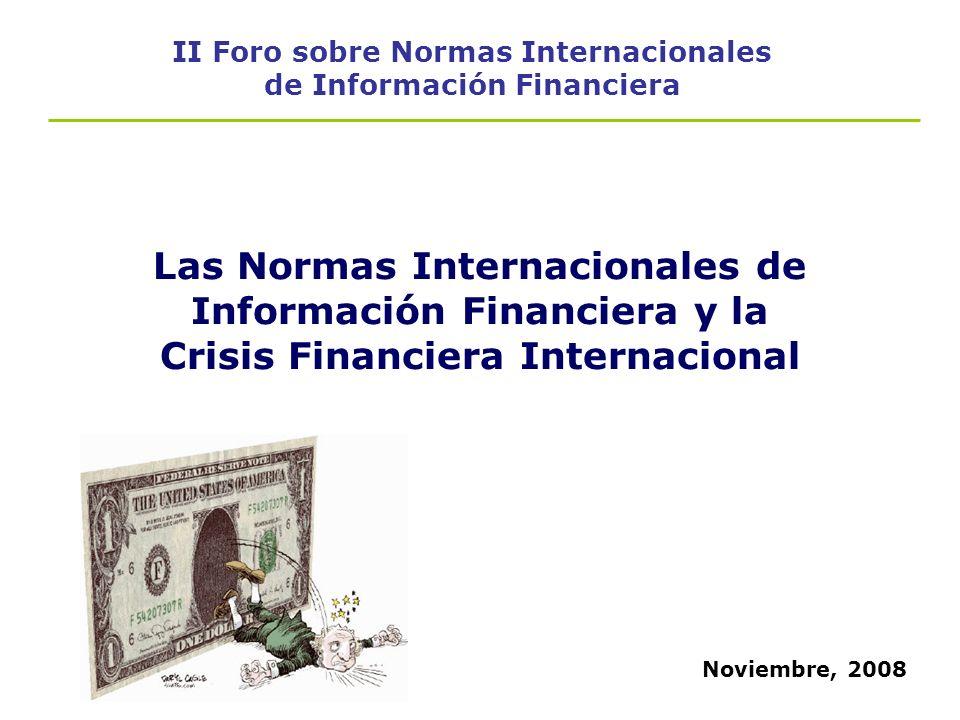 II Foro sobre Normas Internacionales de Información Financiera