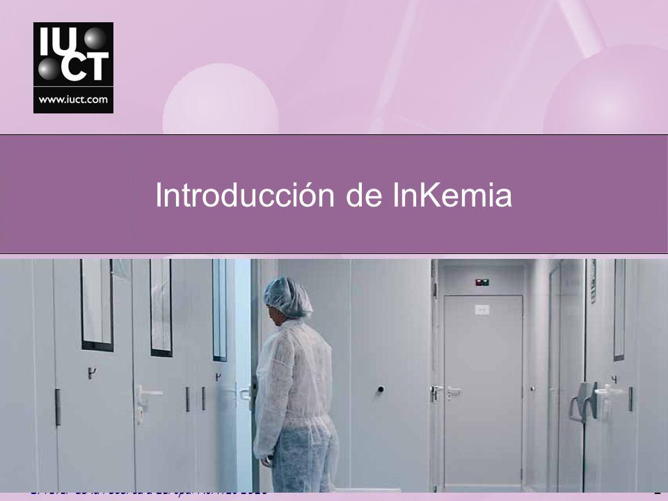 Introducción de InKemia