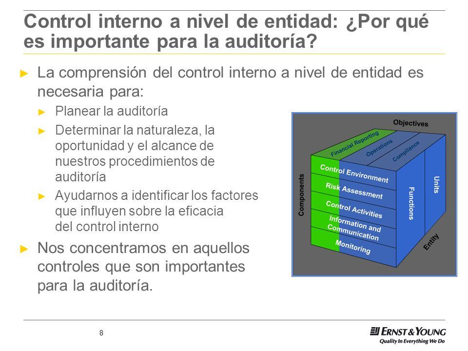 Control interno a nivel de entidad: ¿Por qué es importante para la auditoría