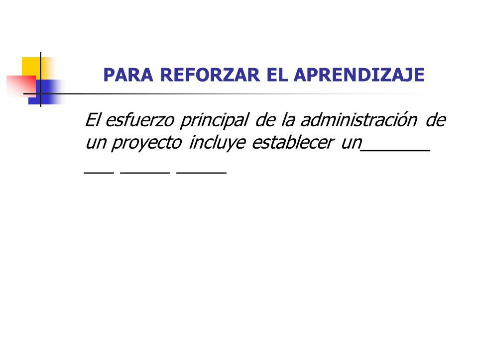 PARA REFORZAR EL APRENDIZAJE