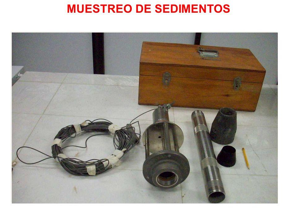 MUESTREO DE SEDIMENTOS