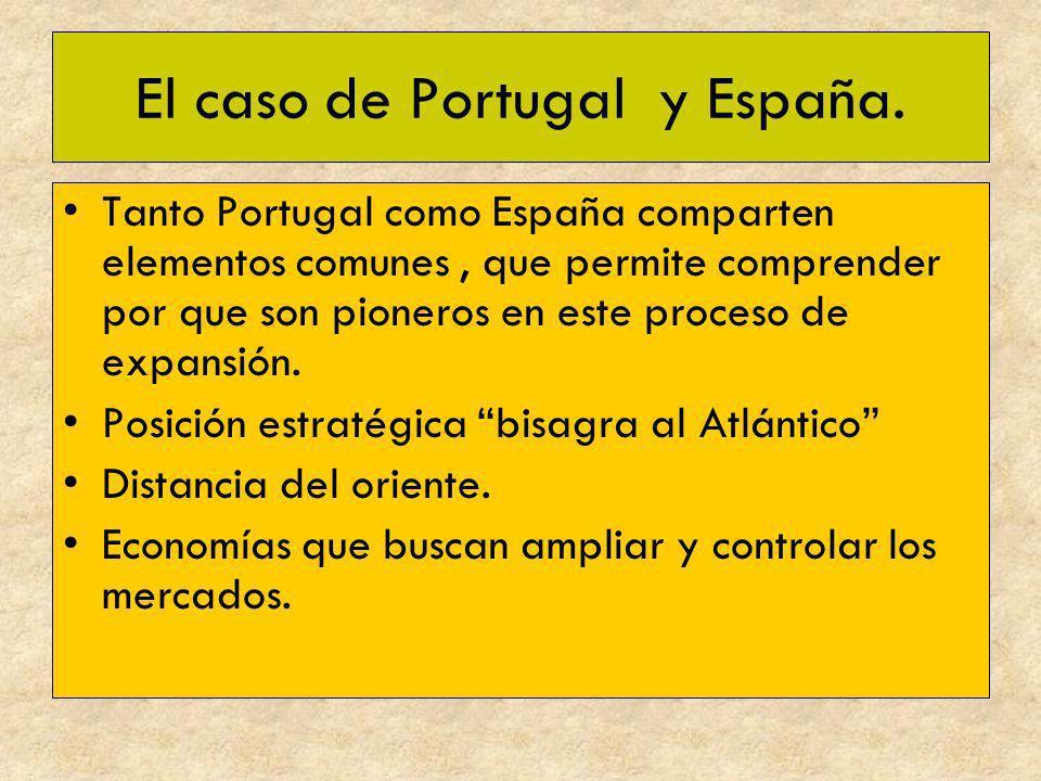El caso de Portugal y España.