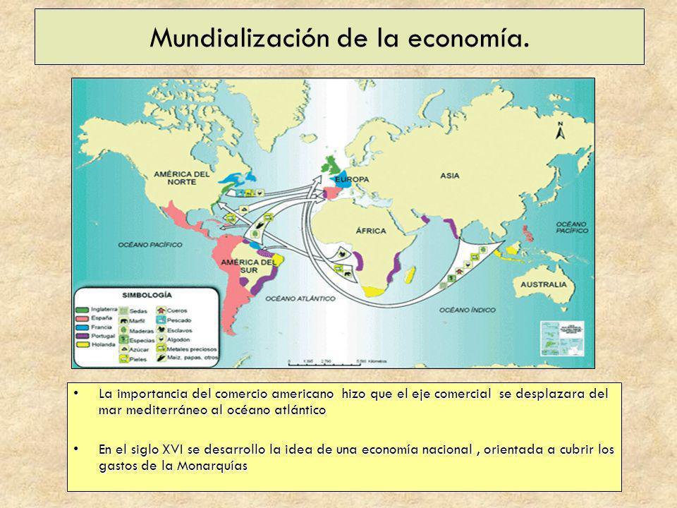 Mundialización de la economía.