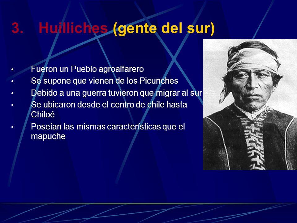 Huilliches (gente del sur)