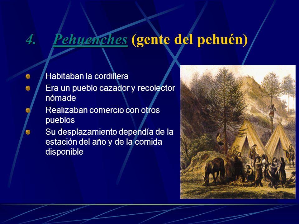Pehuenches (gente del pehuén)