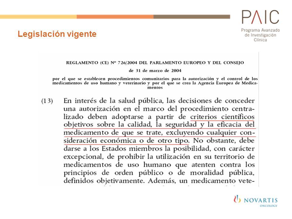 Legislación vigente 46