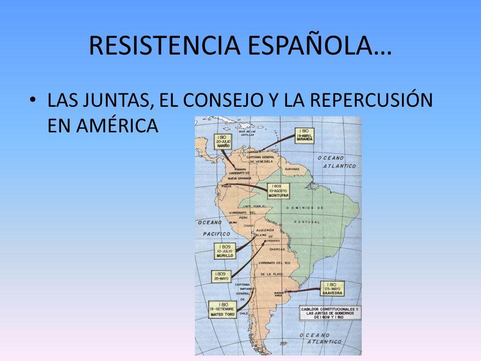 RESISTENCIA ESPAÑOLA…
