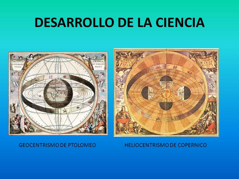 DESARROLLO DE LA CIENCIA