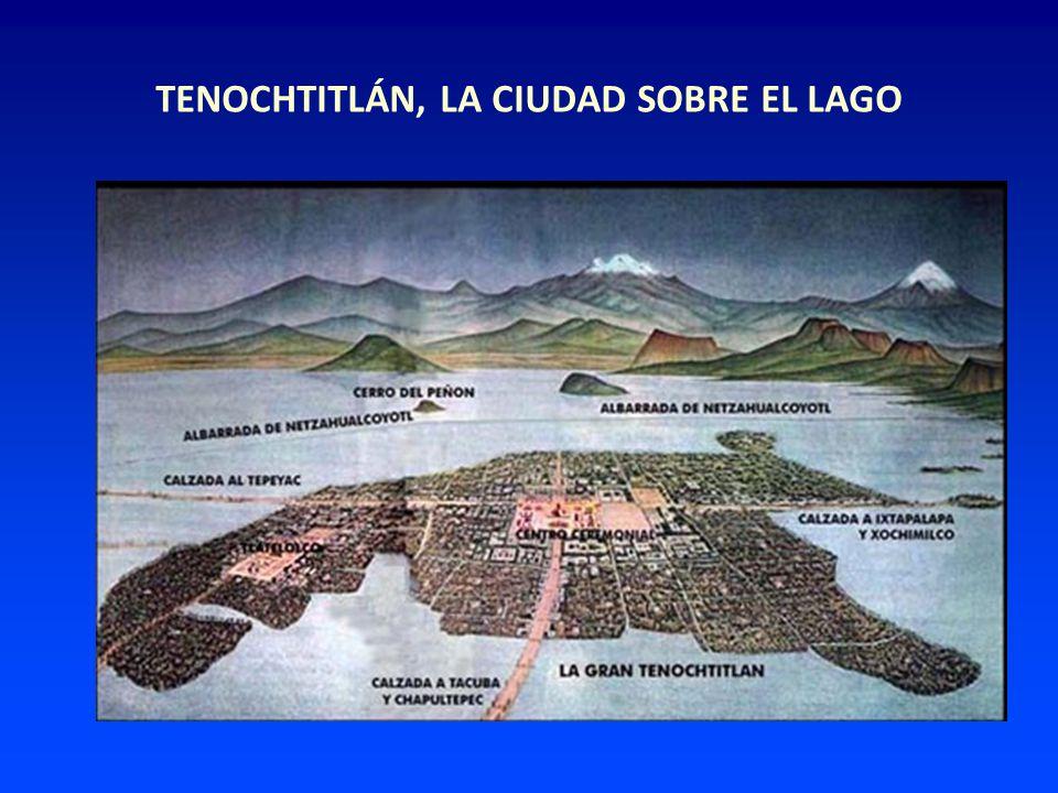 TENOCHTITLÁN, LA CIUDAD SOBRE EL LAGO