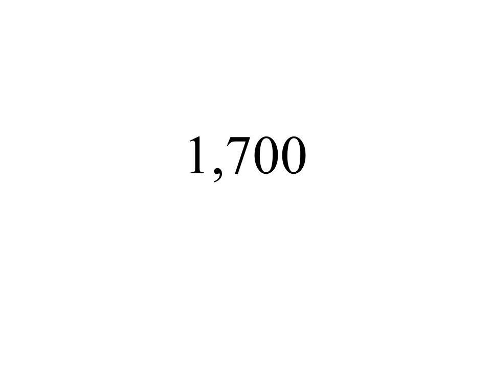 1,700