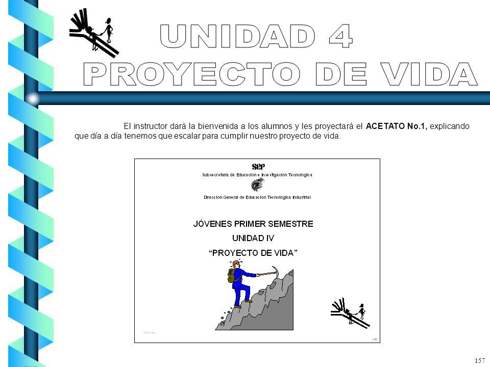 UNIDAD 4 PROYECTO DE VIDA