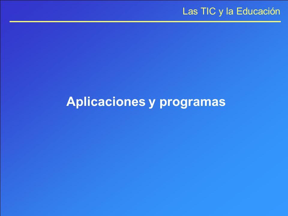 Aplicaciones y programas