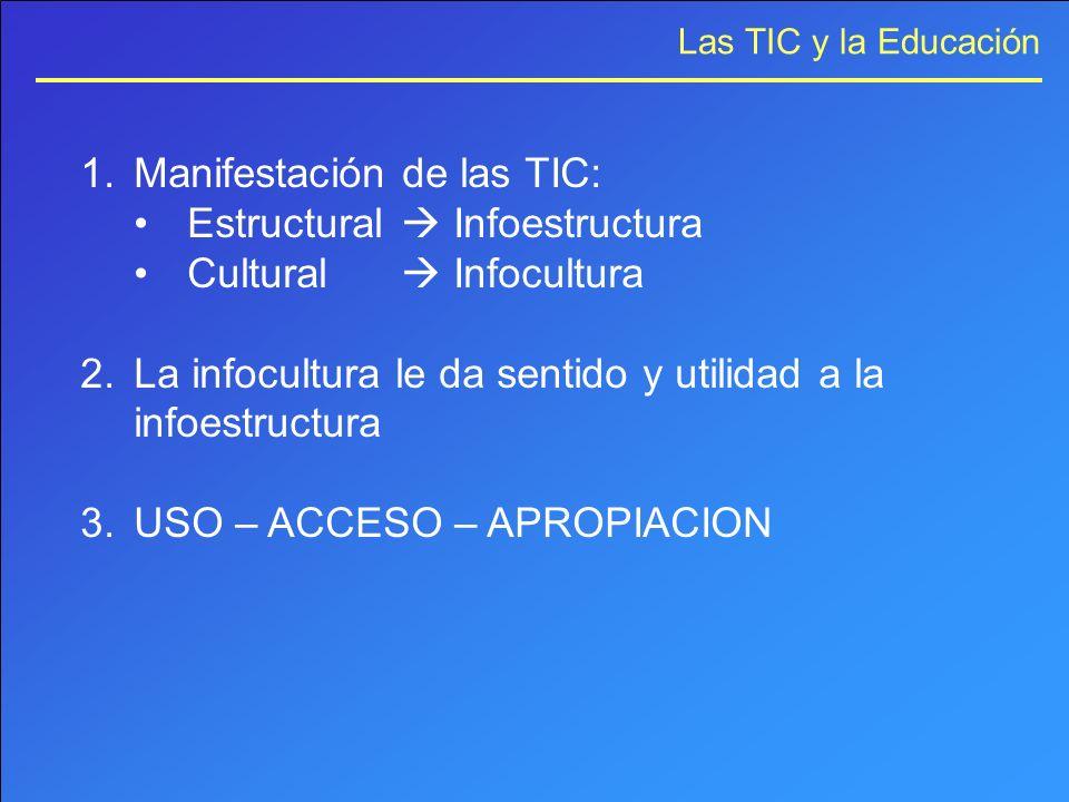 Manifestación de las TIC: