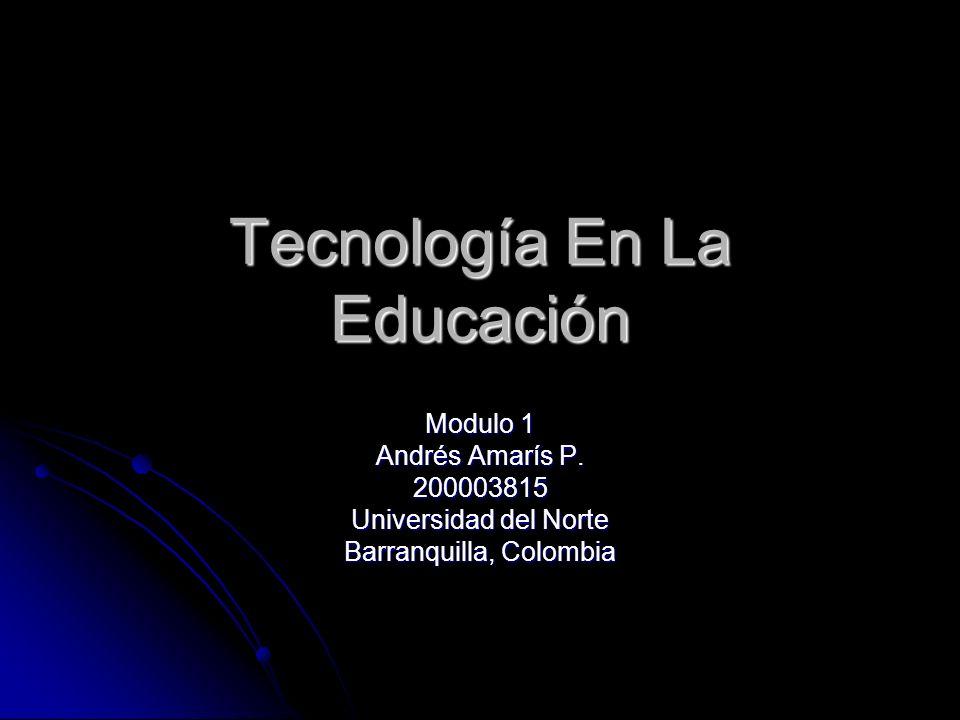 Tecnología En La Educación