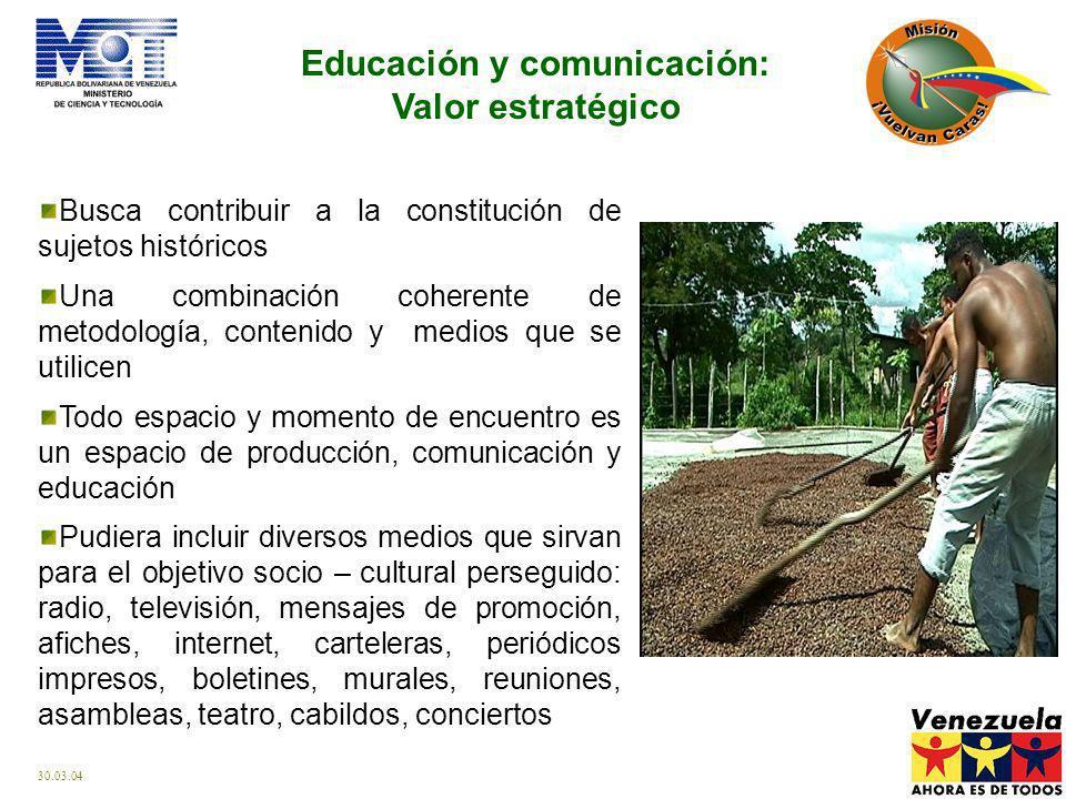 Educación y comunicación: