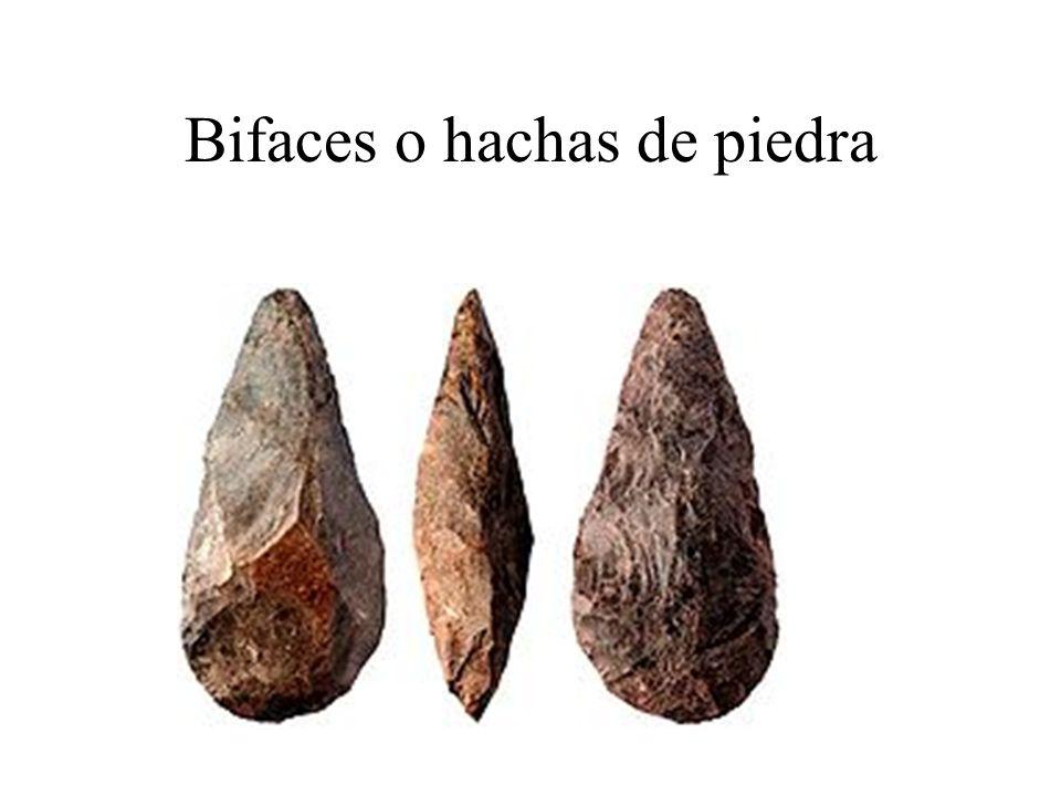 Bifaces o hachas de piedra