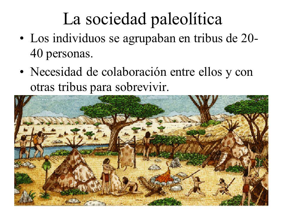 La sociedad paleolítica