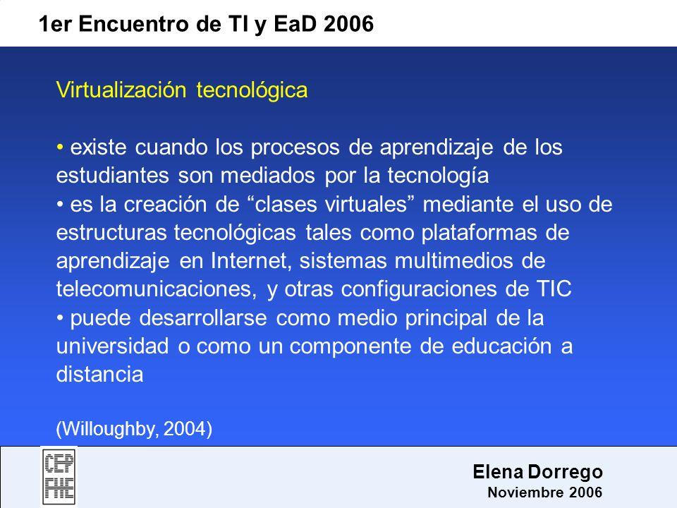 Virtualización tecnológica