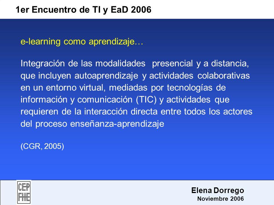 e-learning como aprendizaje…
