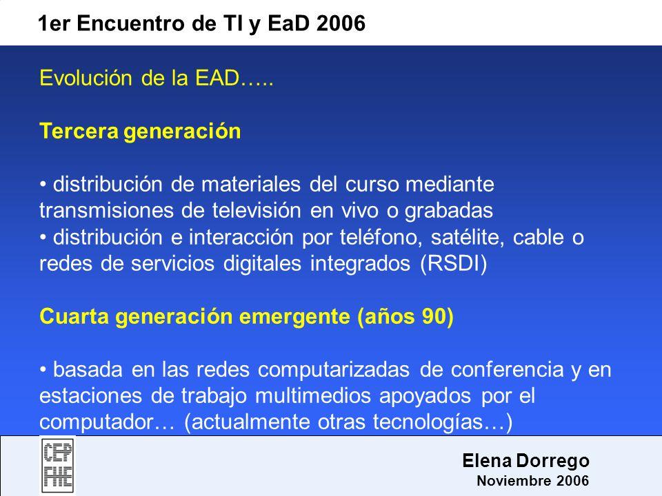 Cuarta generación emergente (años 90)