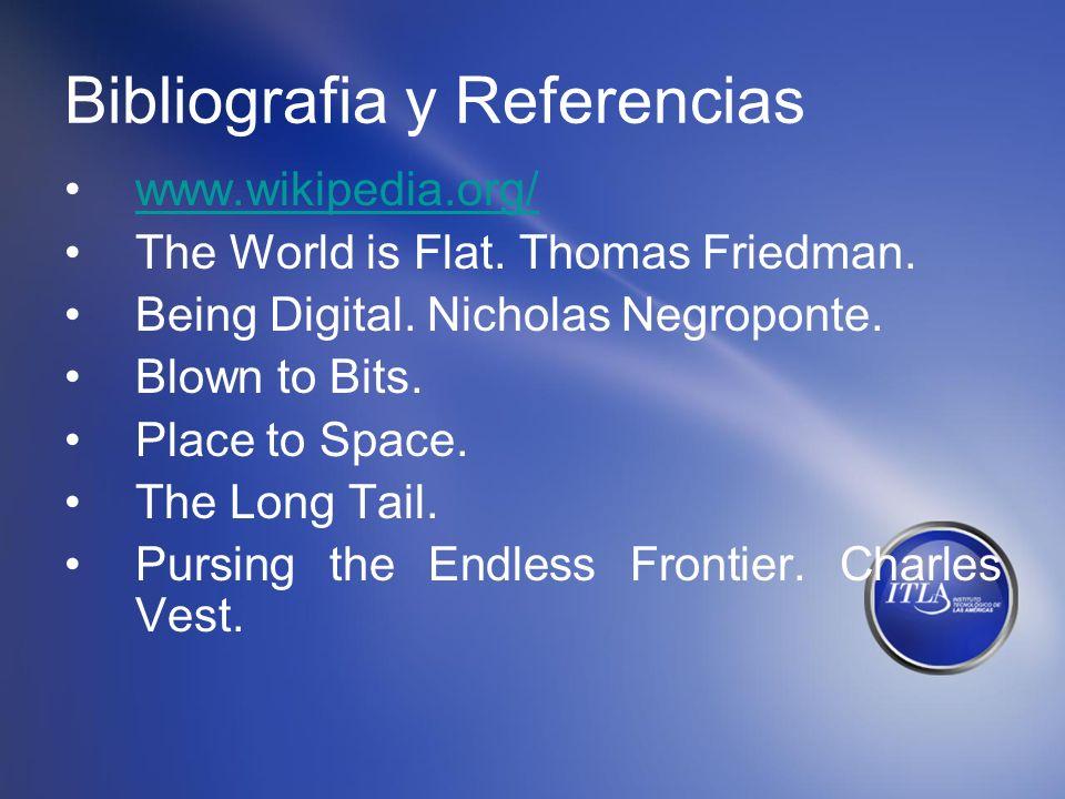 Bibliografia y Referencias