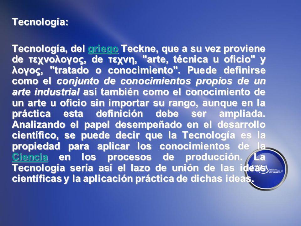 Tecnología: