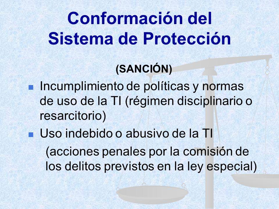 Conformación del Sistema de Protección
