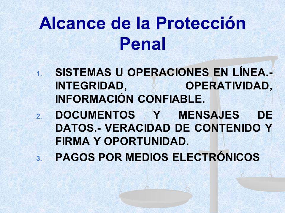 Alcance de la Protección Penal