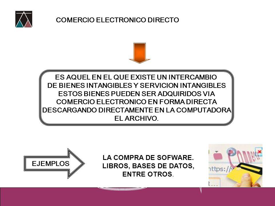 COMERCIO ELECTRONICO DIRECTO