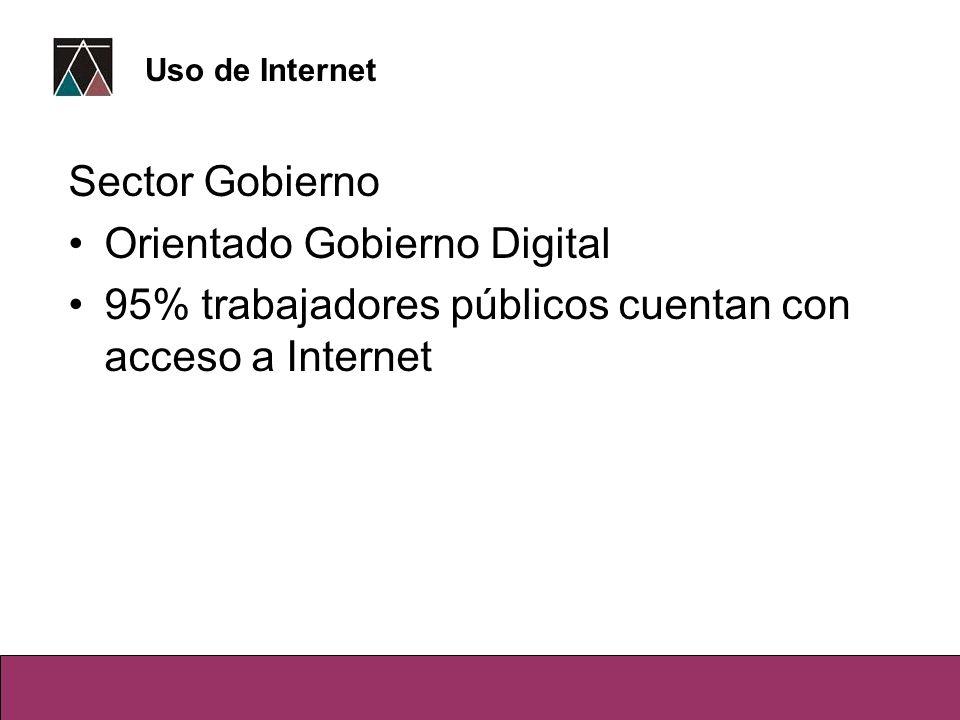 Orientado Gobierno Digital
