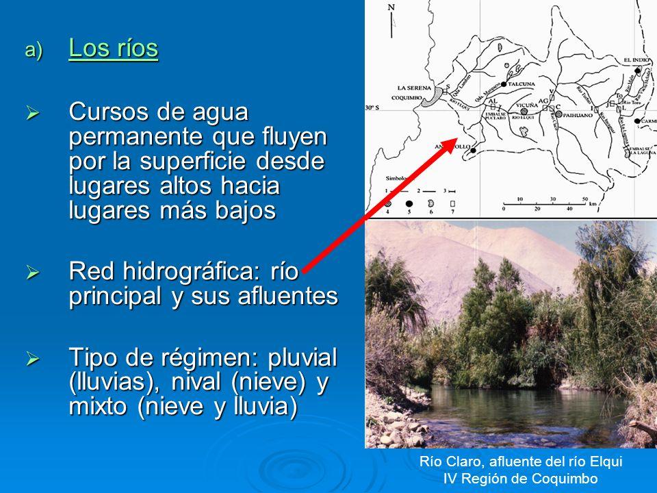 Río Claro, afluente del río Elqui