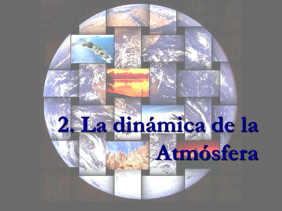 2. La dinámica de la Atmósfera