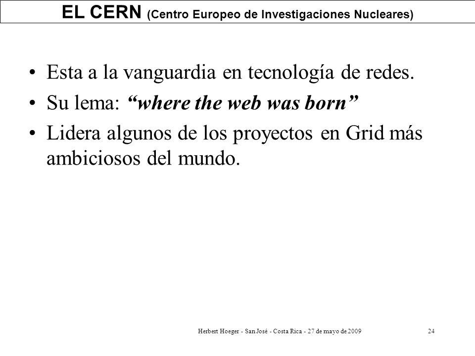 EL CERN (Centro Europeo de Investigaciones Nucleares)