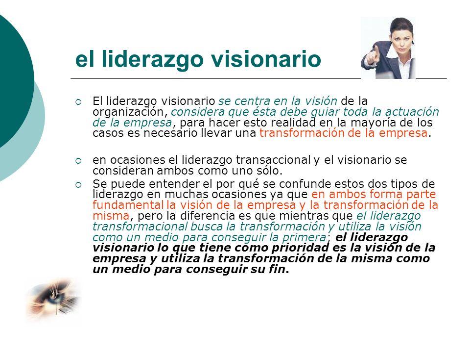el liderazgo visionario
