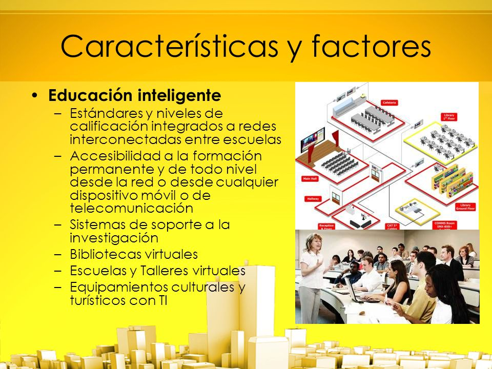 Características y factores