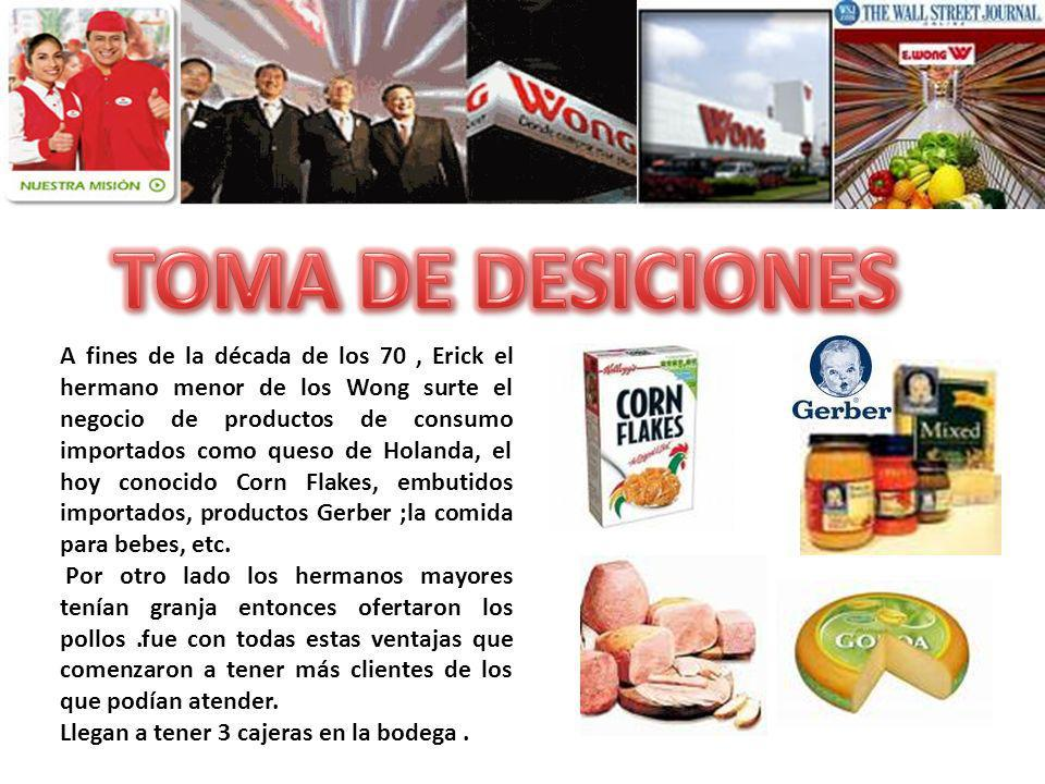 TOMA DE DESICIONES