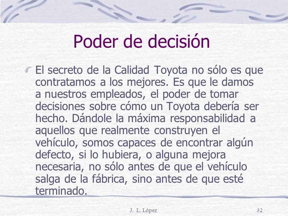 Poder de decisión
