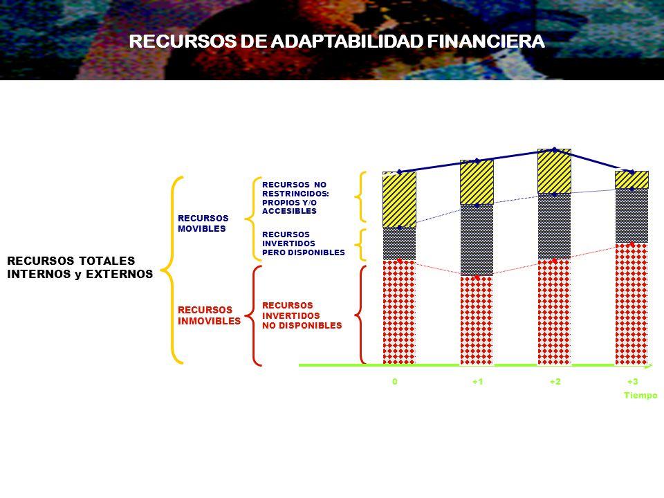 RECURSOS DE ADAPTABILIDAD FINANCIERA
