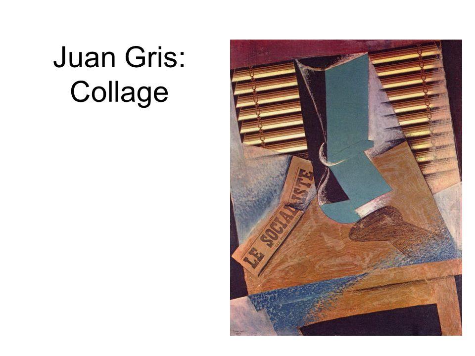 Juan Gris: Collage
