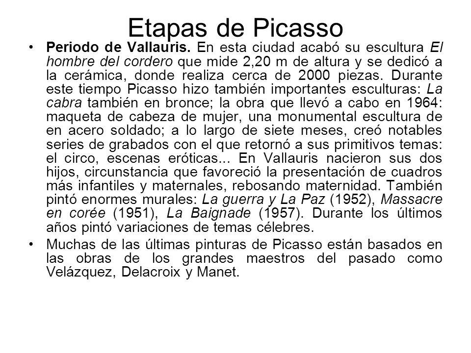Etapas de Picasso