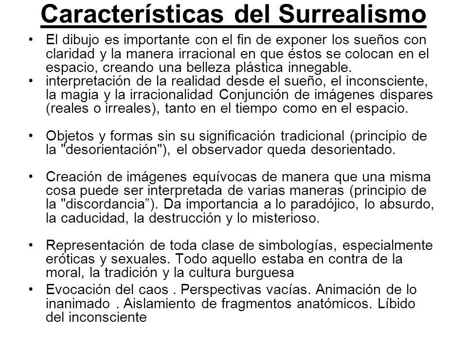 Características del Surrealismo