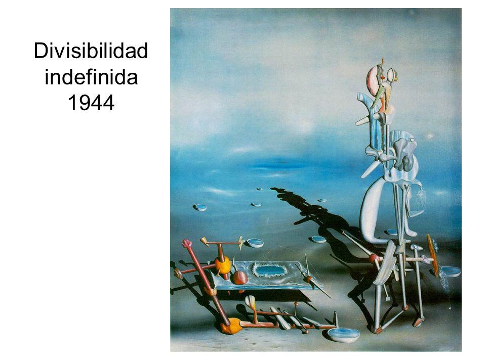 Divisibilidad indefinida 1944