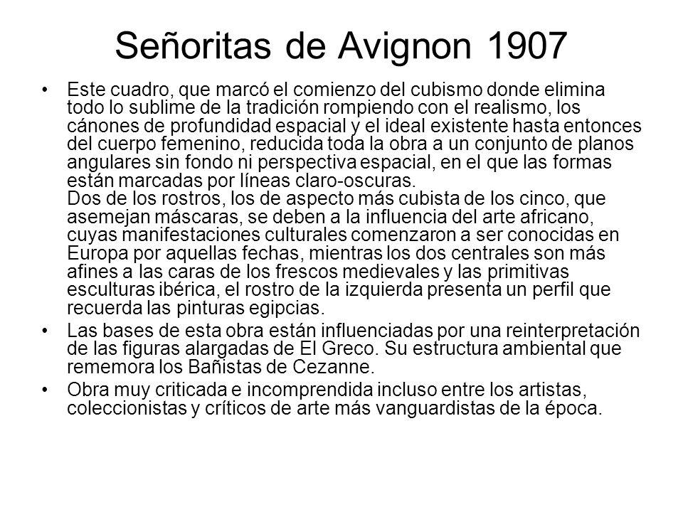 Señoritas de Avignon 1907